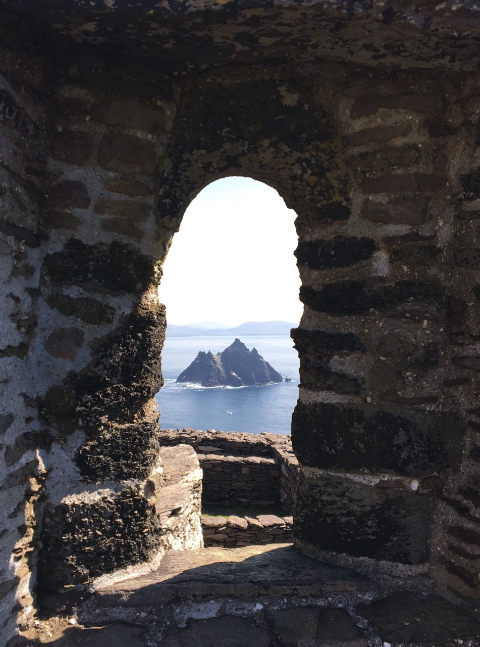 Little Skellig in the distance