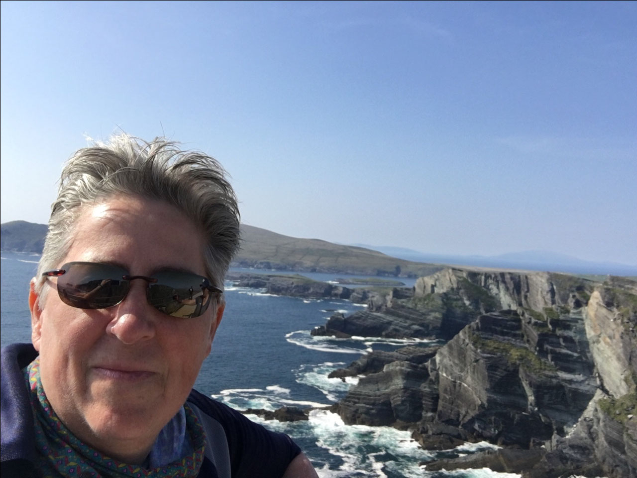 Moi at the Kerry Cliffs