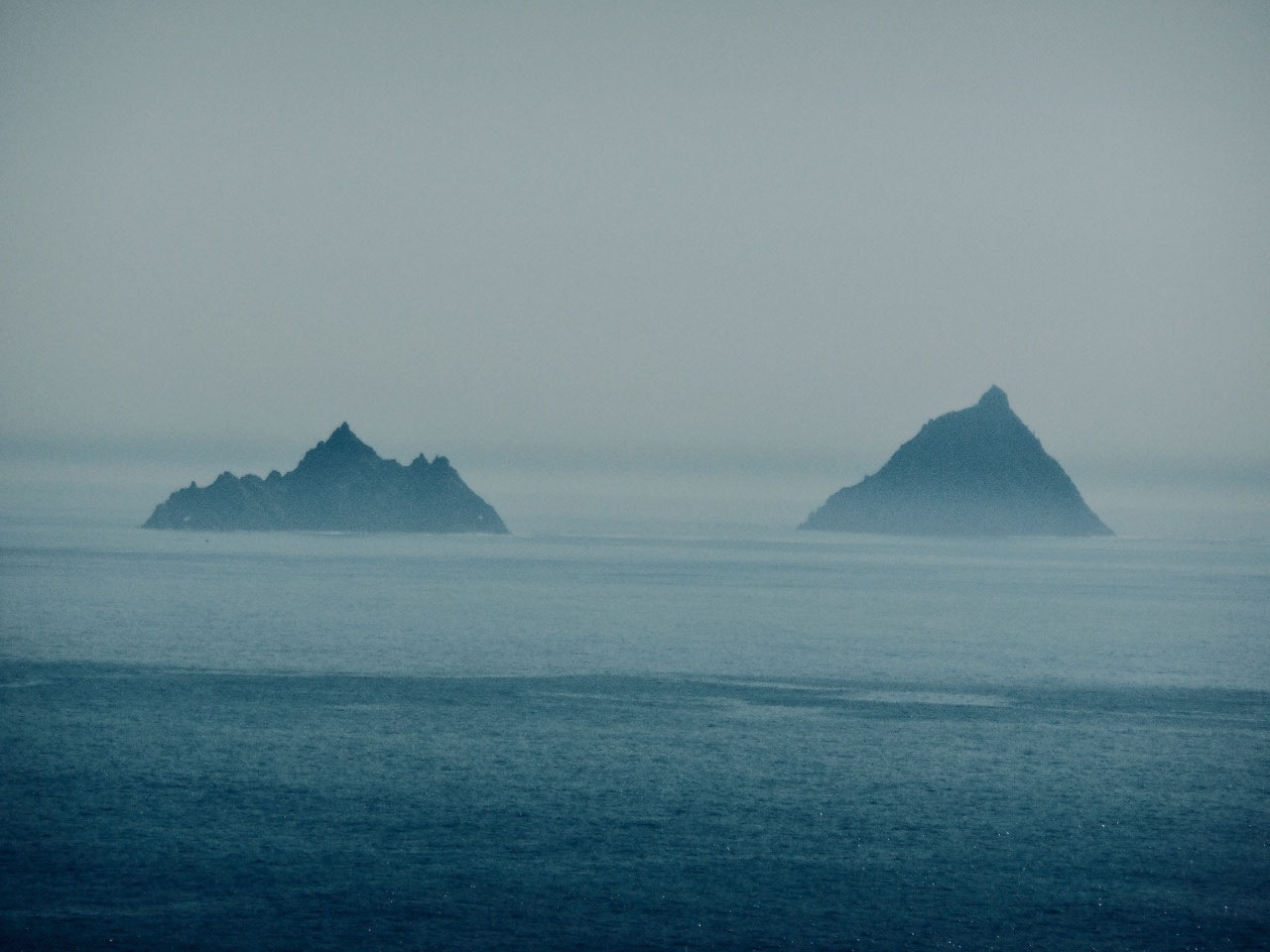 Skelligs from the Cliffs