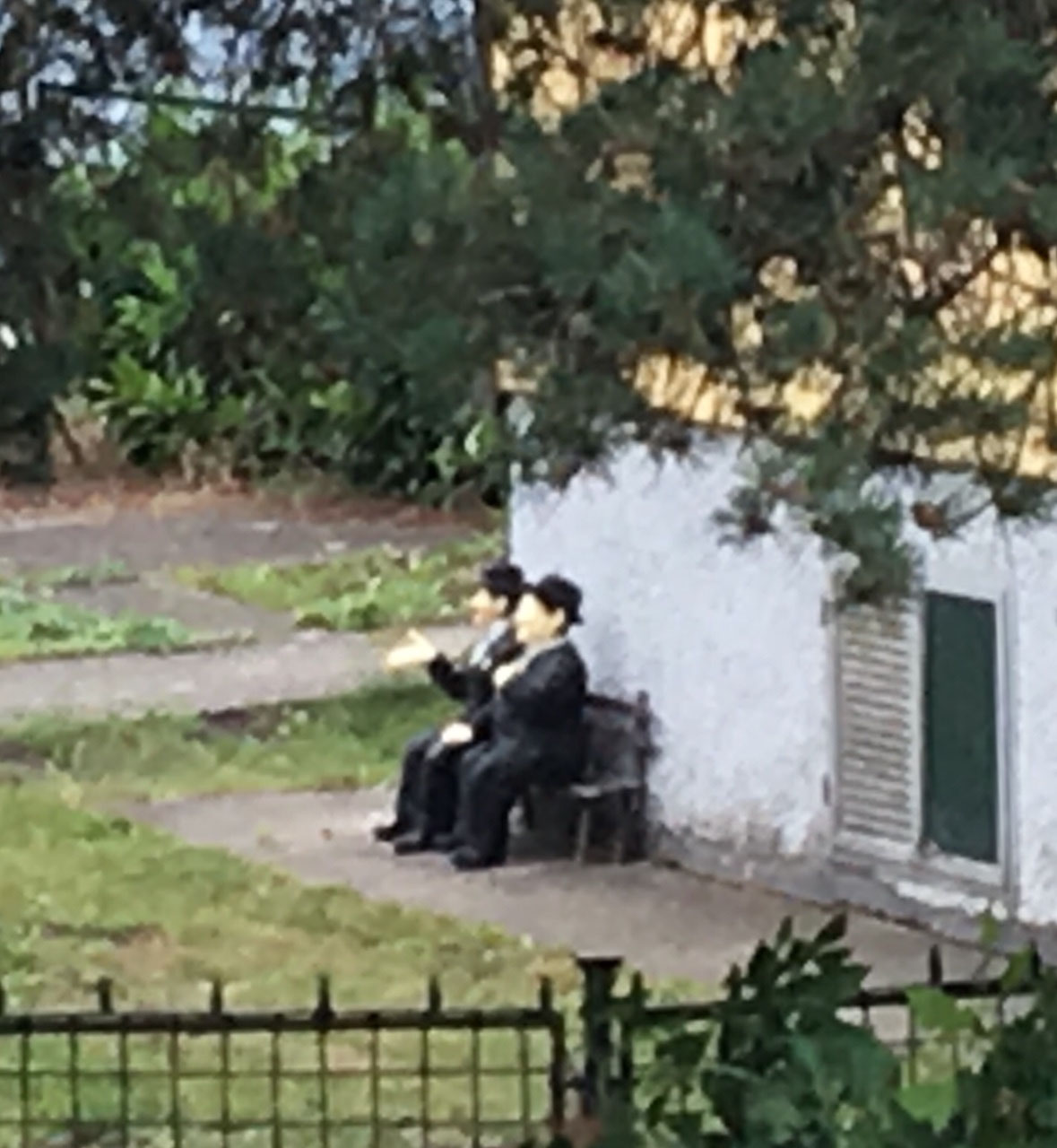 Laurel and Hardy?