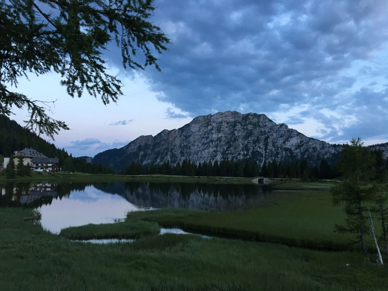 The Italian Alps are less green
