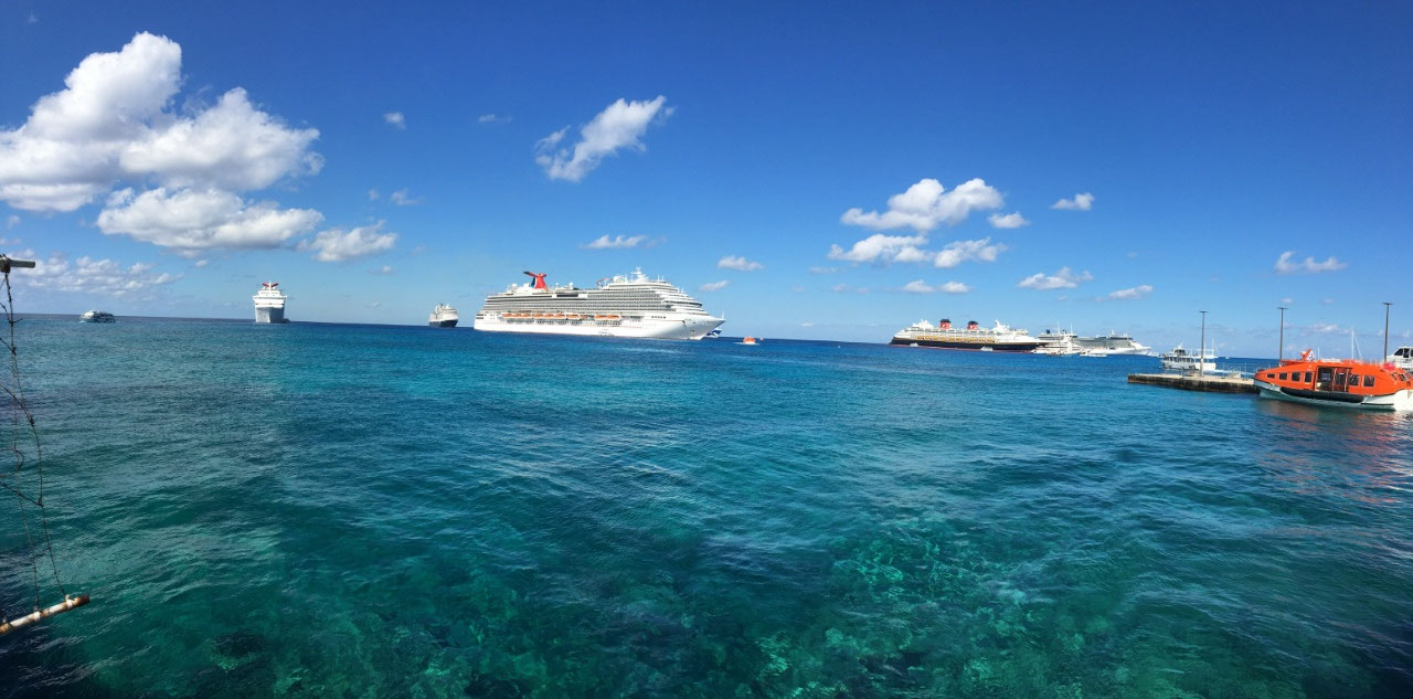 Six ships in port today!