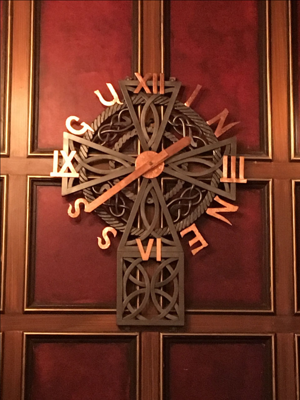 Clock at Waxy's
