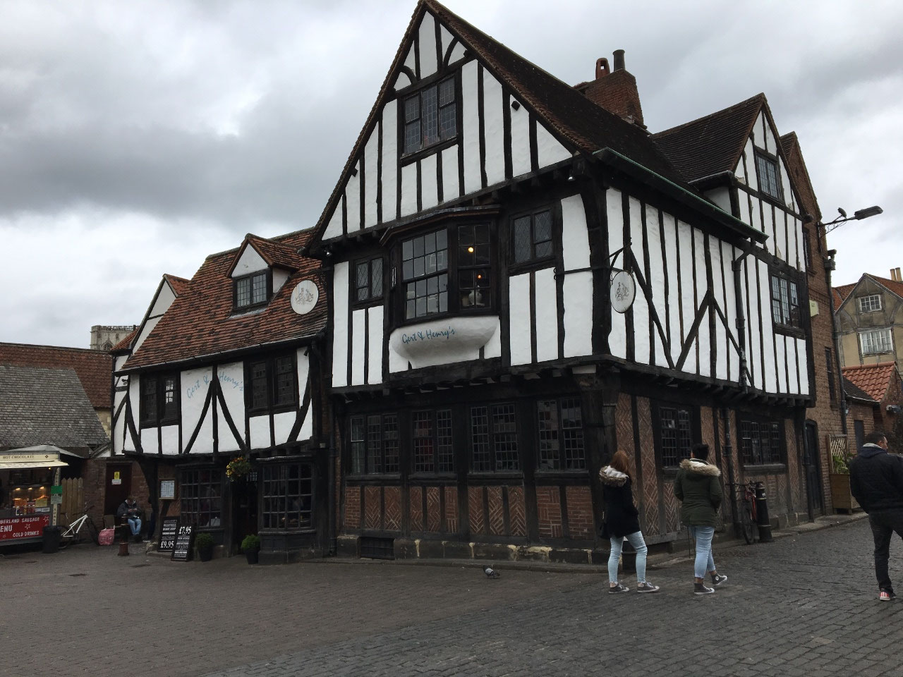 Old building in the Shambles Market