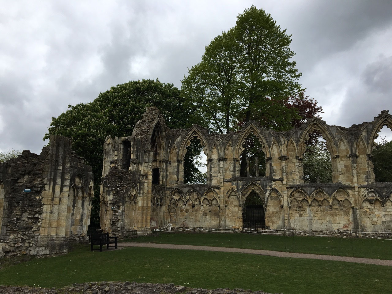 Ruins of St Mary's Abbey