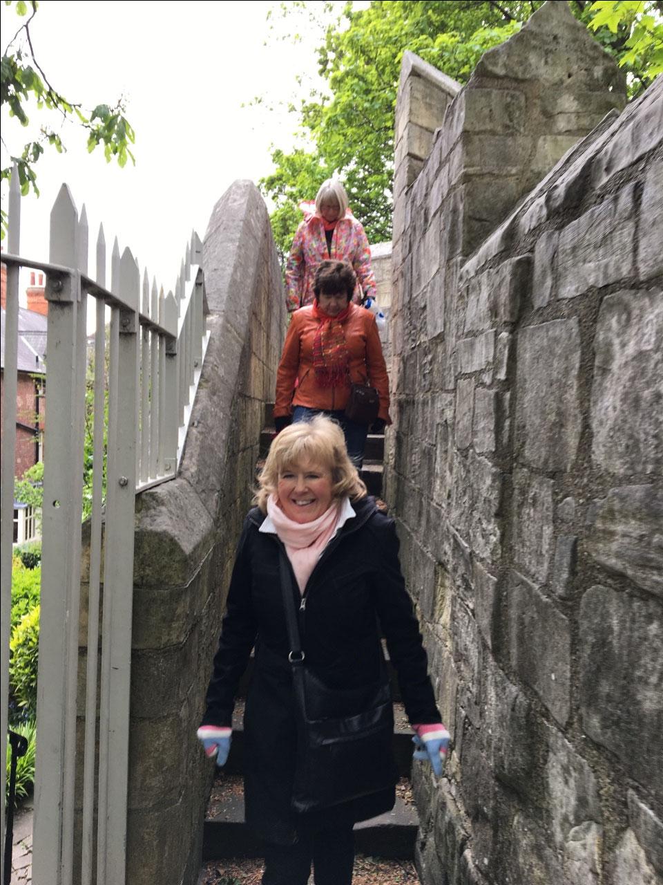 Walking the ancient walls of York