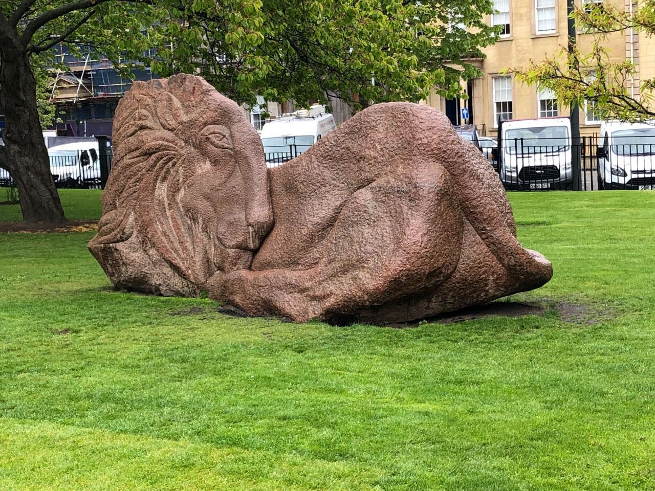 Cool lion rock