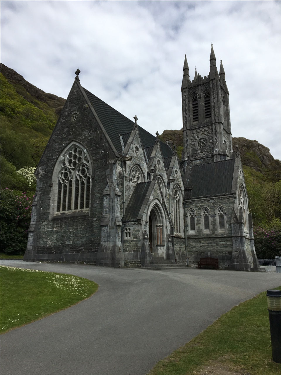 Gothic Cathedral at Kylemore Abbey