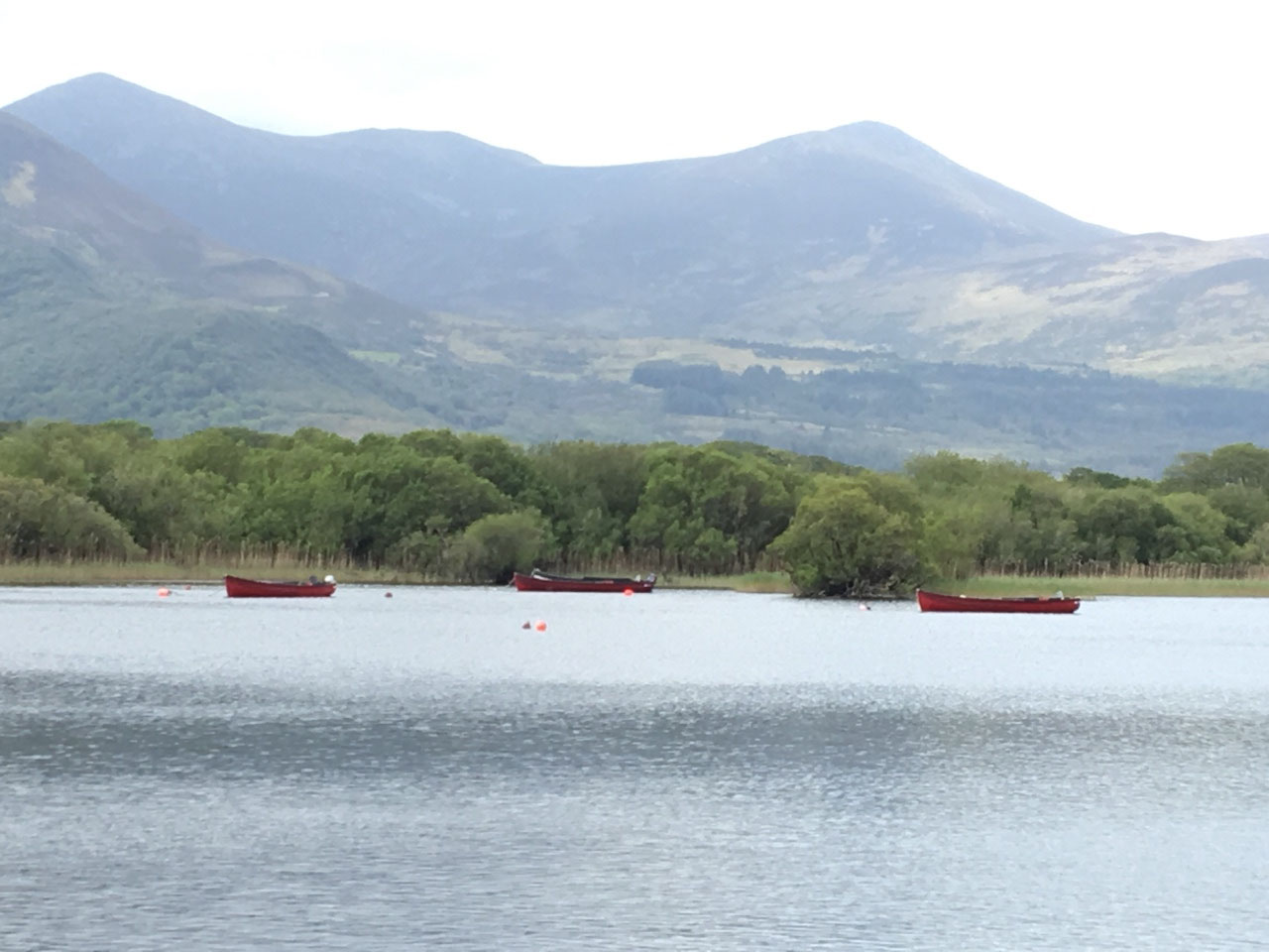 The lake at Ross Castle
