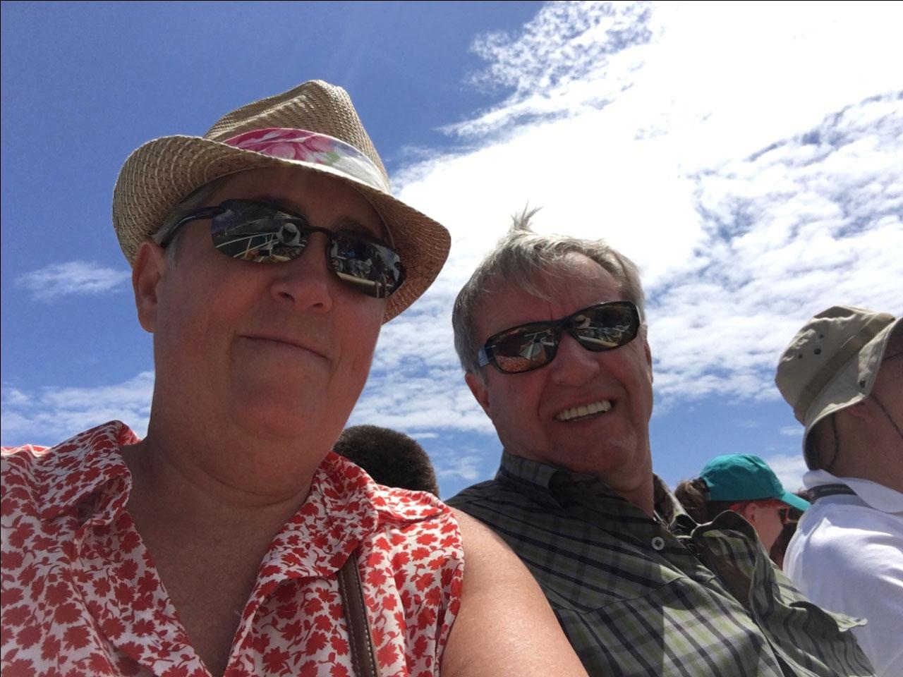 Ferry ride to St John