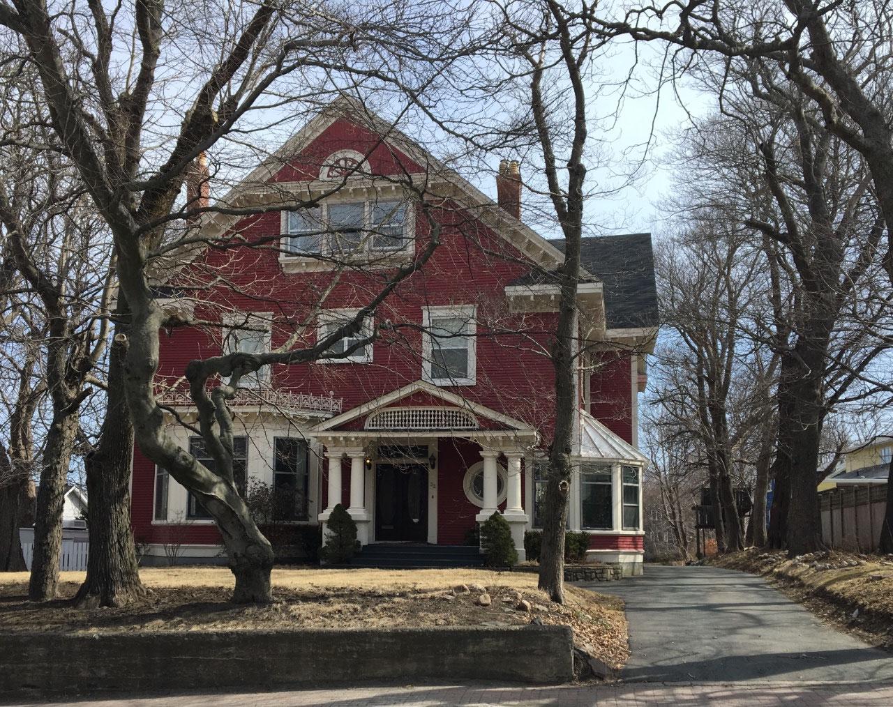 Allan Hawco's House