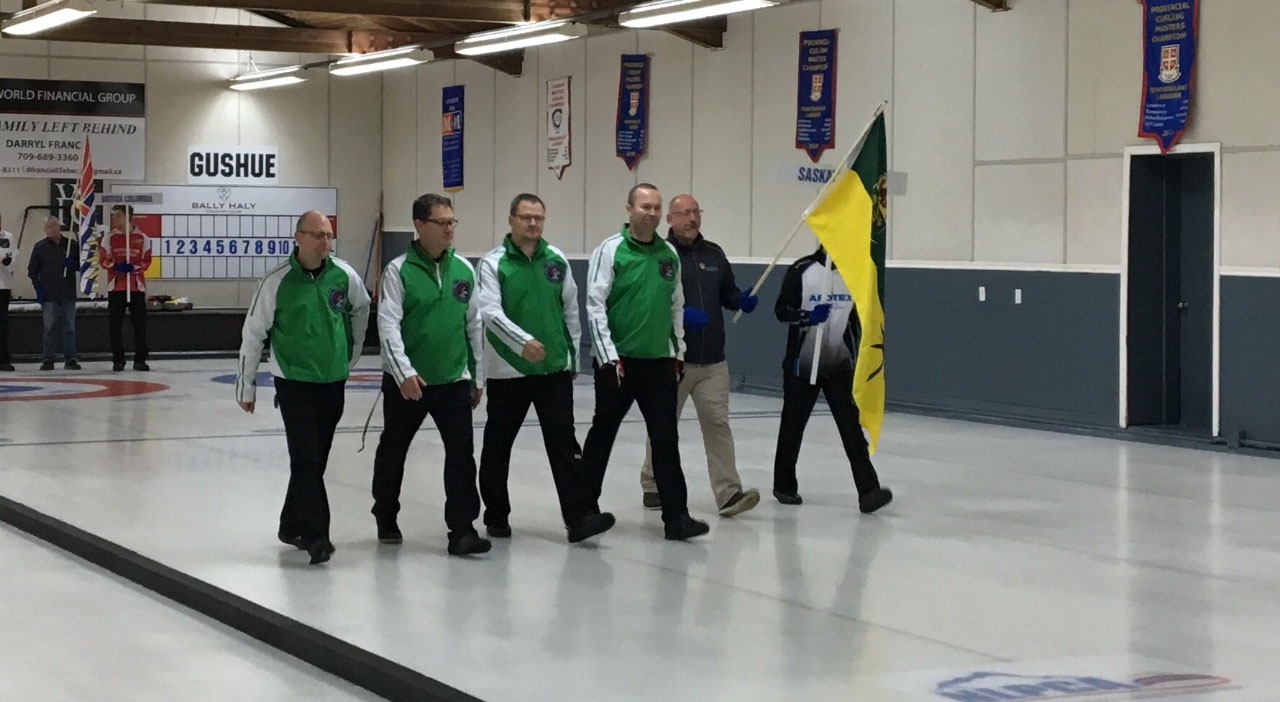 Second Place - Team Saskatchewan