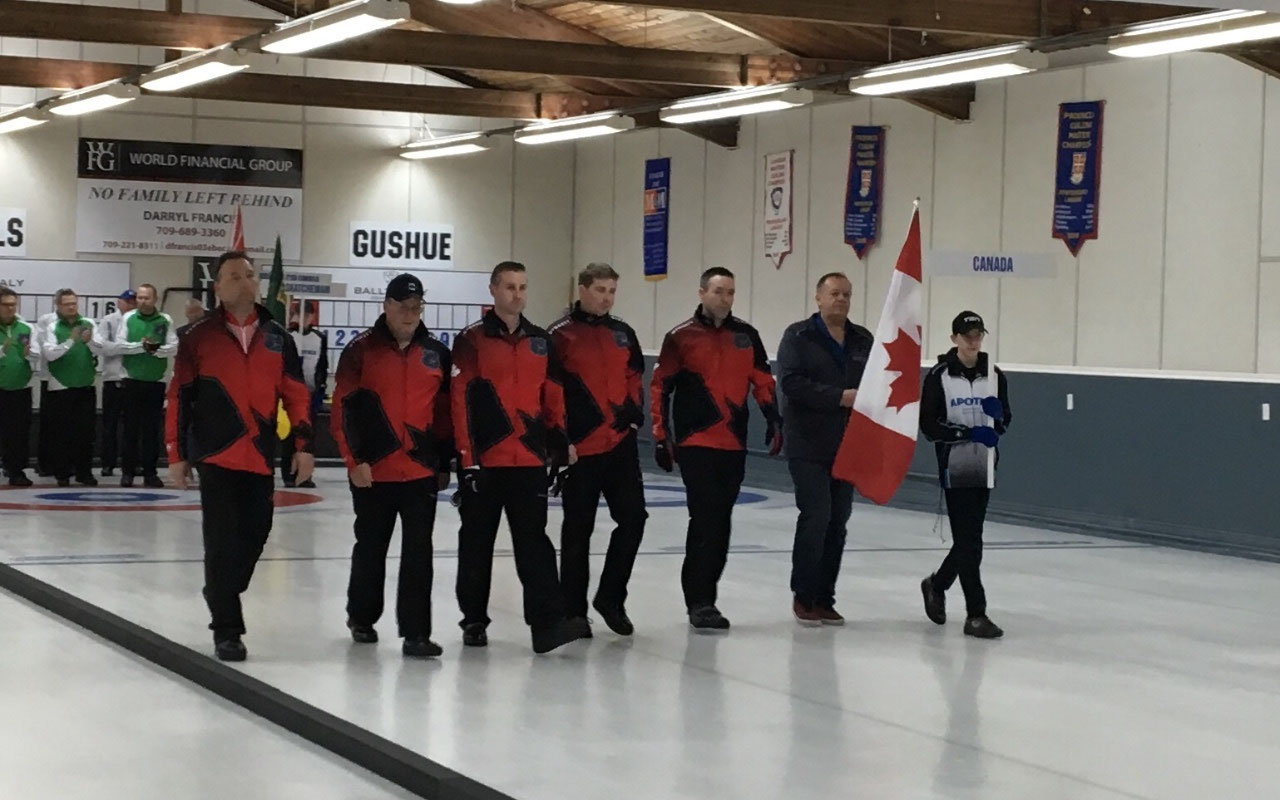 Third Place - Team Canada