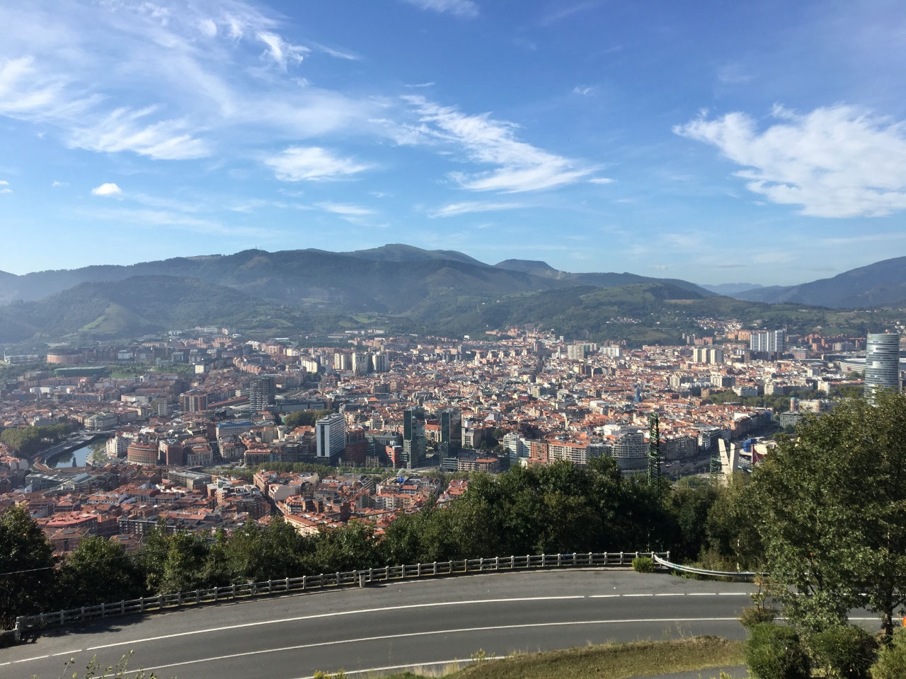 Bilbao from above