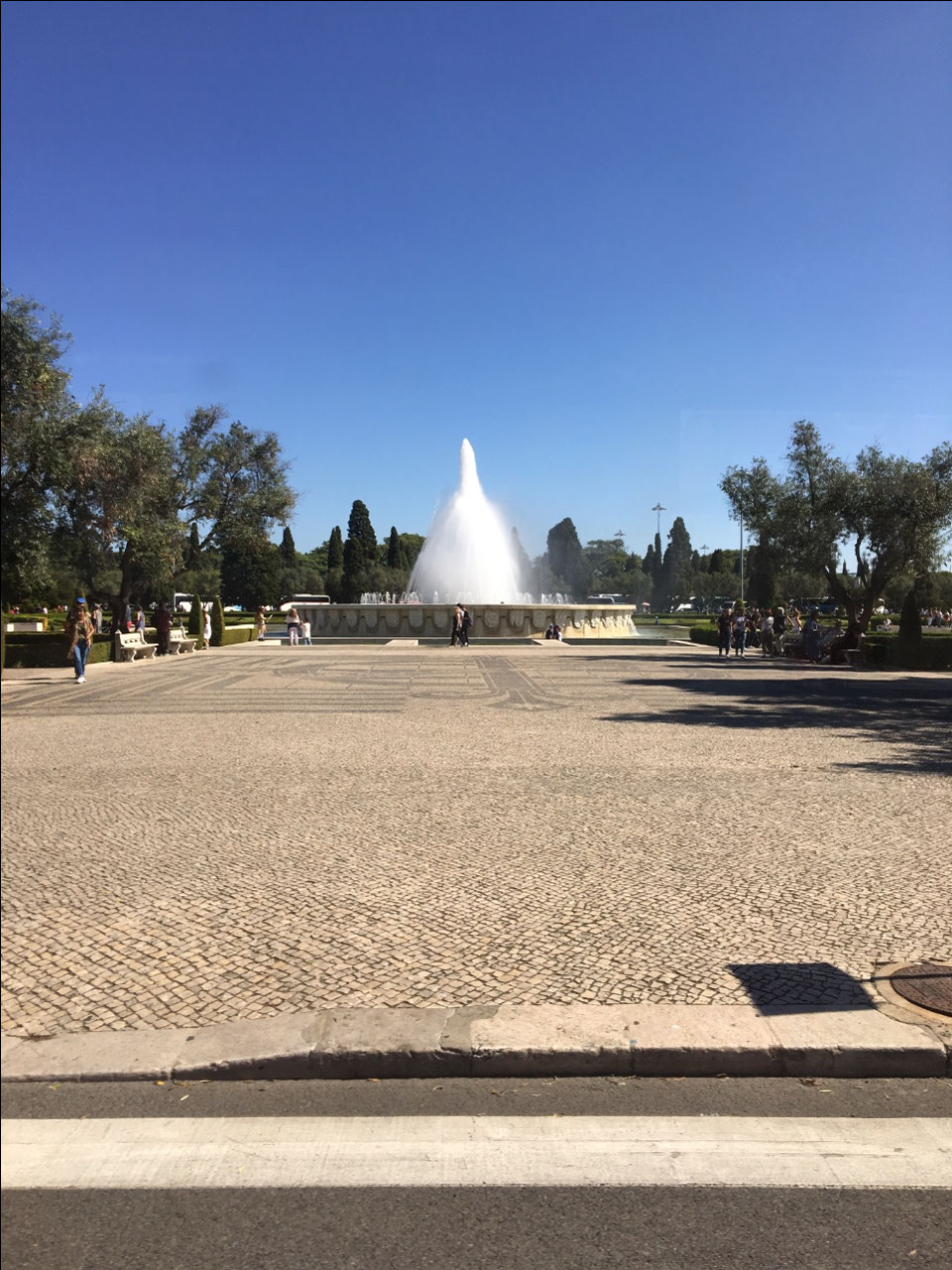 A fountain in Bellem