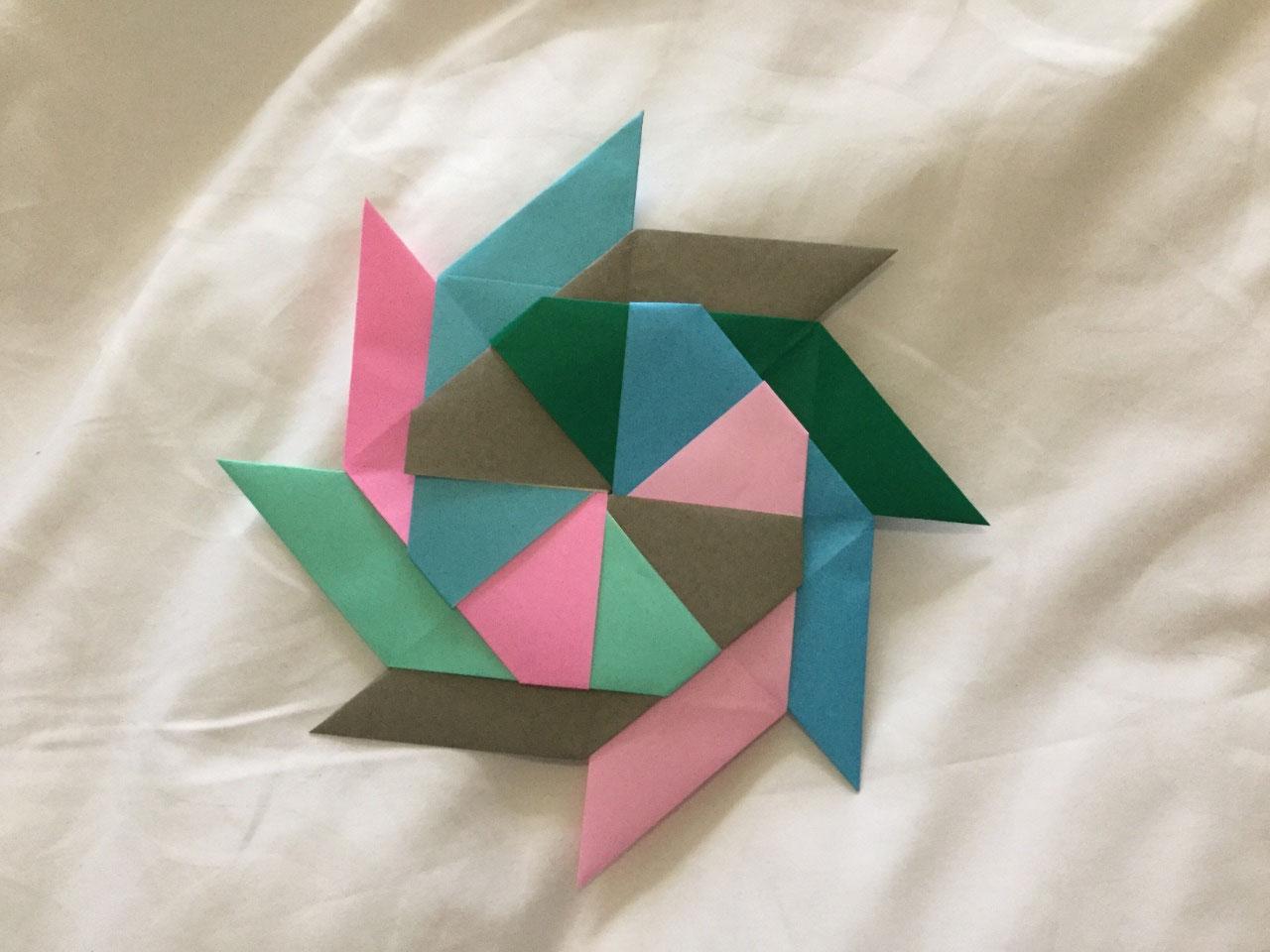 Converts to pinwheel