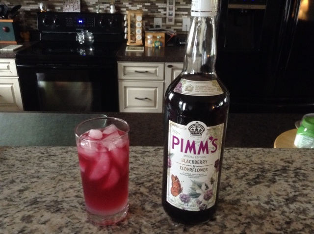 Cheers with a Pimm's & Lemonade!