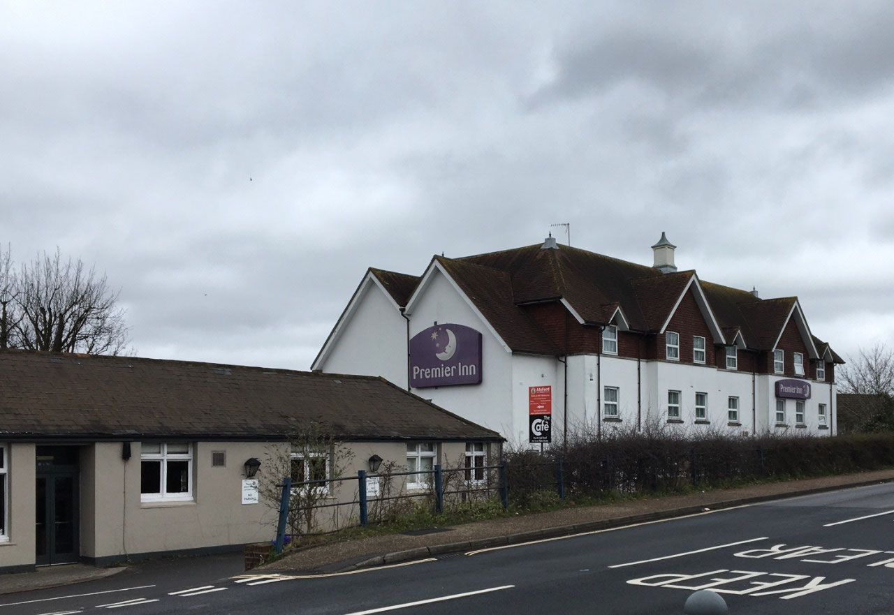 The hotel I stayed at 7 years ago in Horsham