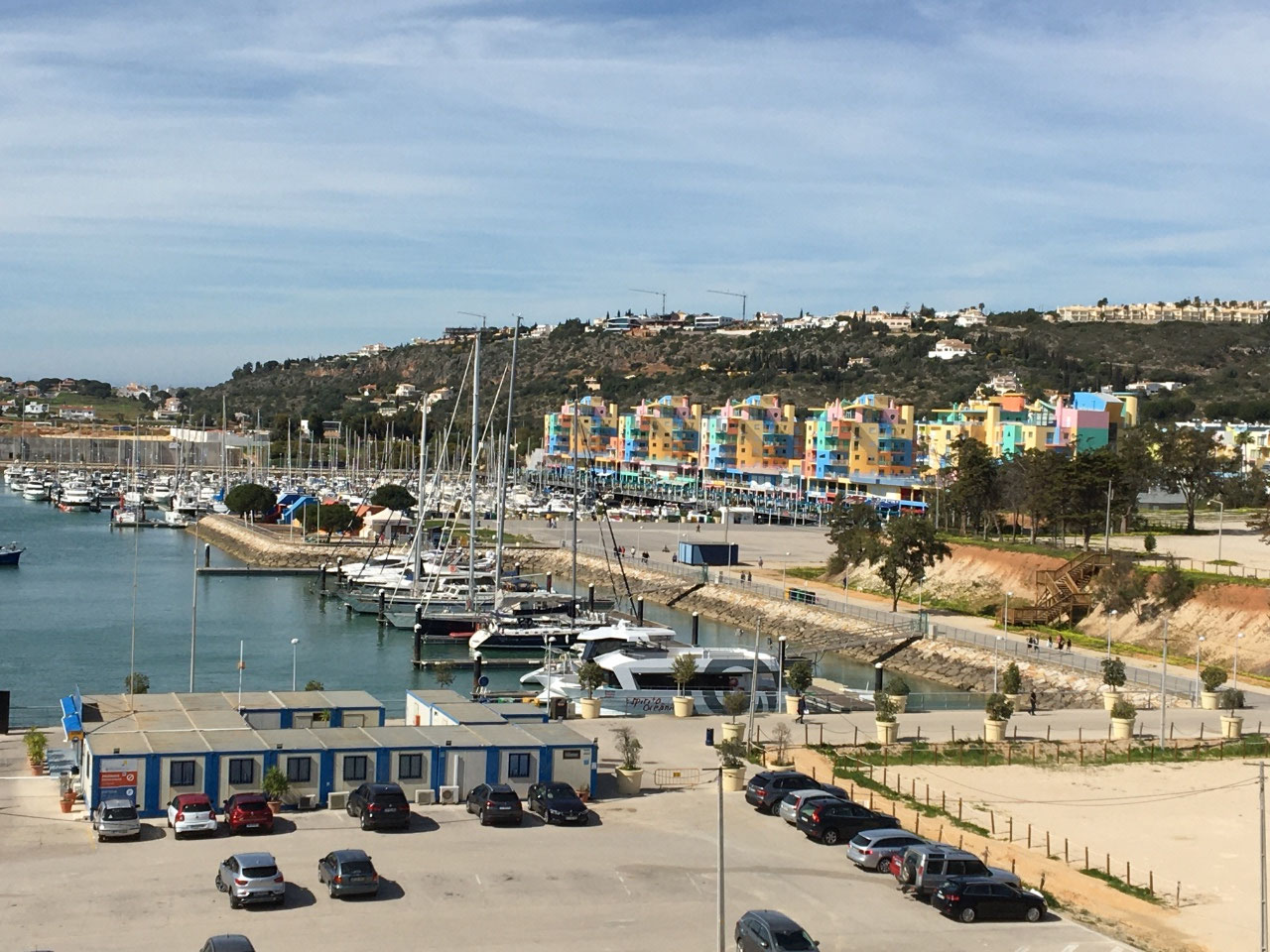Some colour at the marina