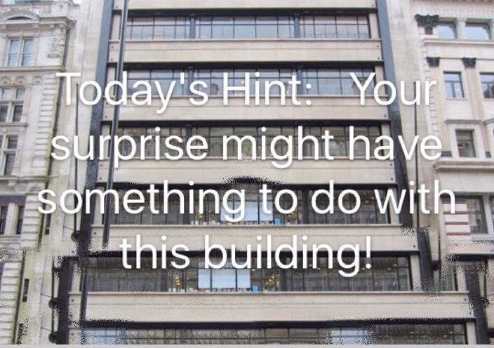 """The building which relates to the """"surprise"""""""