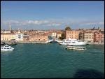 Boat traffic in Venice