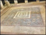 Tile floor in the Domvs Romanus