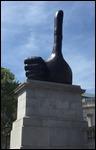 New art(??) in Trafalgar Square