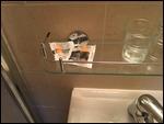 Earplugs in our Killarney hotel - didn't need them