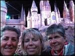 In front of Hogwart's