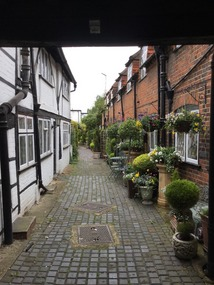 A picturesque alleyway in Eton