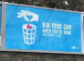 Cork City...serious about their gum!