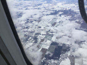 Snow on the ground in Ontario