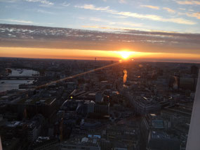 Sunset from the SkyGarden
