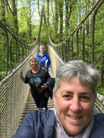 Rope bridges at the Treehouse