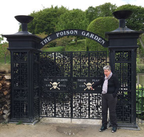 The Poison Garden gates