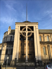 Largest Celtic Cross and spire