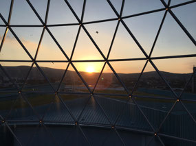 Sunset from The Dome in Victoria Square