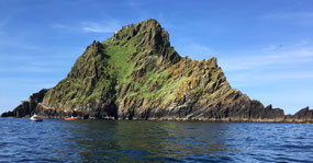 The star of the show, Skellig Michael