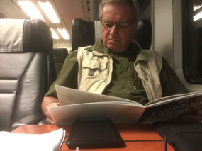Riding the rails in First Class