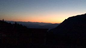Sunrise at 4:15 this morning