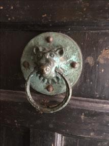'Sanctuary knocker' on All Saints Pavement Church