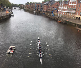 Rowing on the River Ouse