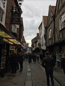 The inspiration for Harry Potter's Daigon Alley
