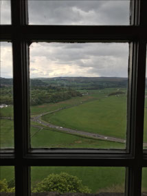 From the window at Stirling Castle