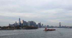 Manhattan from the ship