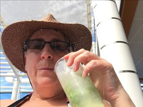 A Mojito by the pool