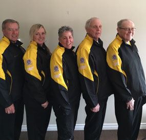 Team NB sporting our new jackets