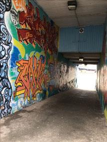 Lots of alley art