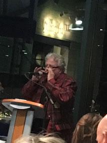 Toby MacDonald on harmonica