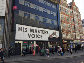 Never knew what HMV stood for before today!
